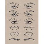 Pad practica - sprancene, ochi, buze-92
