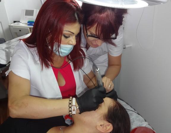 Master Class HAIRSTROKE - Academia Internationala de Permanent Make-Up NOUVEAU CONTOUR